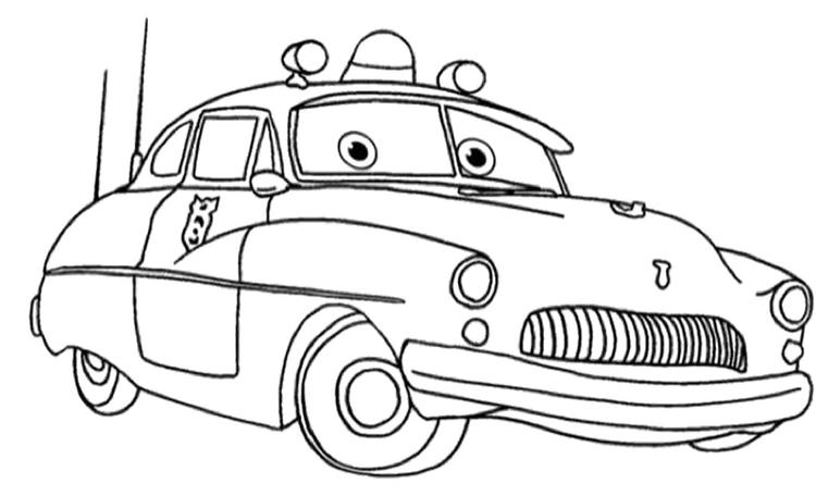 Free Disney Cars Coloring Pages 3