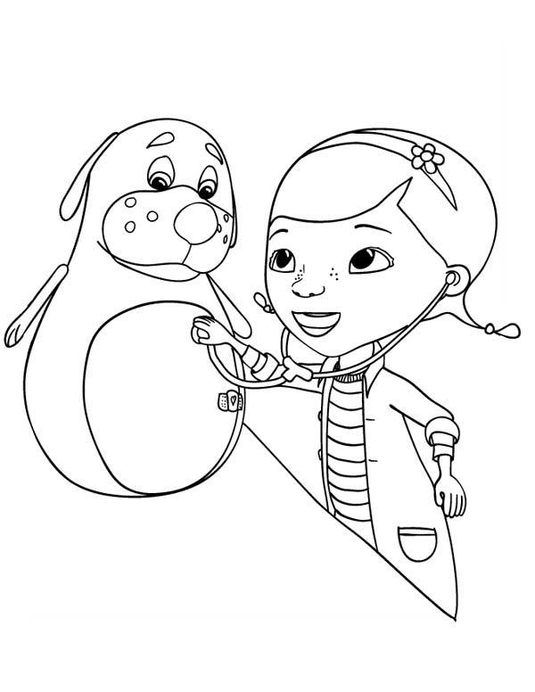 Free doc mcstuffins coloring pages for kids