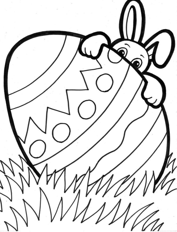 Free Easter Printable Coloring Pages For Kids