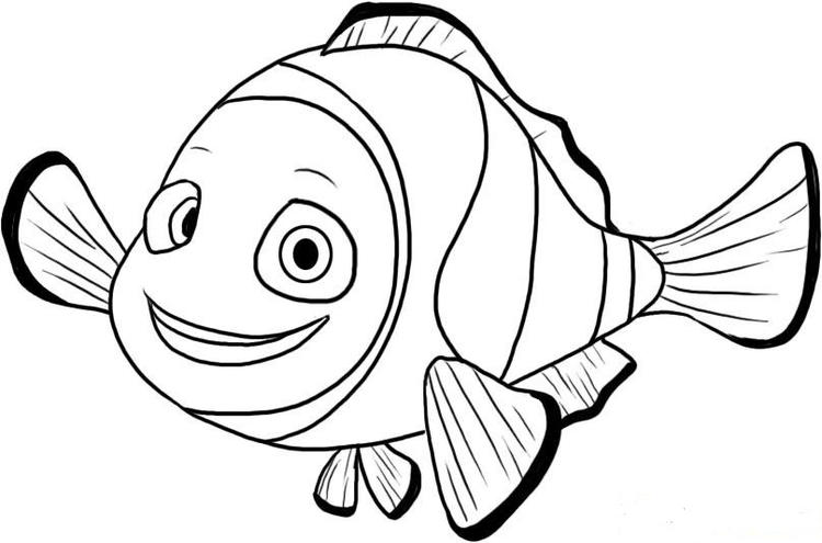 Free Finding Nemo Coloring Pages For Kids