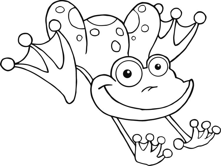 Free Frog Coloring Pages For Kids