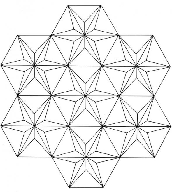 Free Geometric Pattern Coloring Pages For Adults