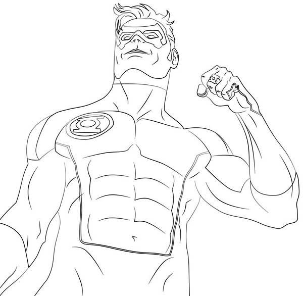 Free Green Lantern Coloring Pages To Print