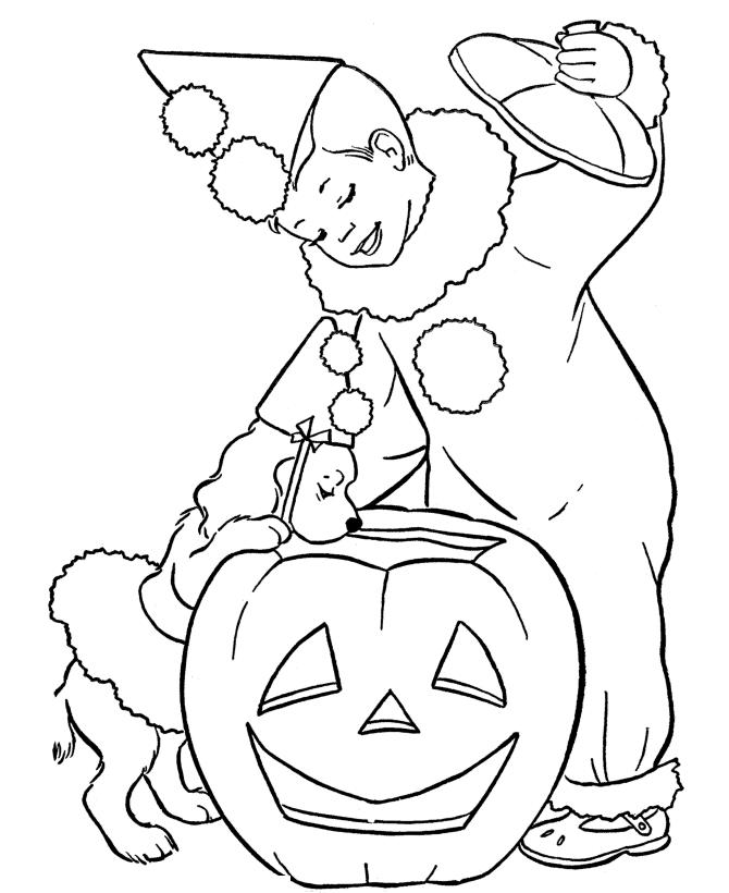 Free Halloween Coloring Pages For Kids To Print
