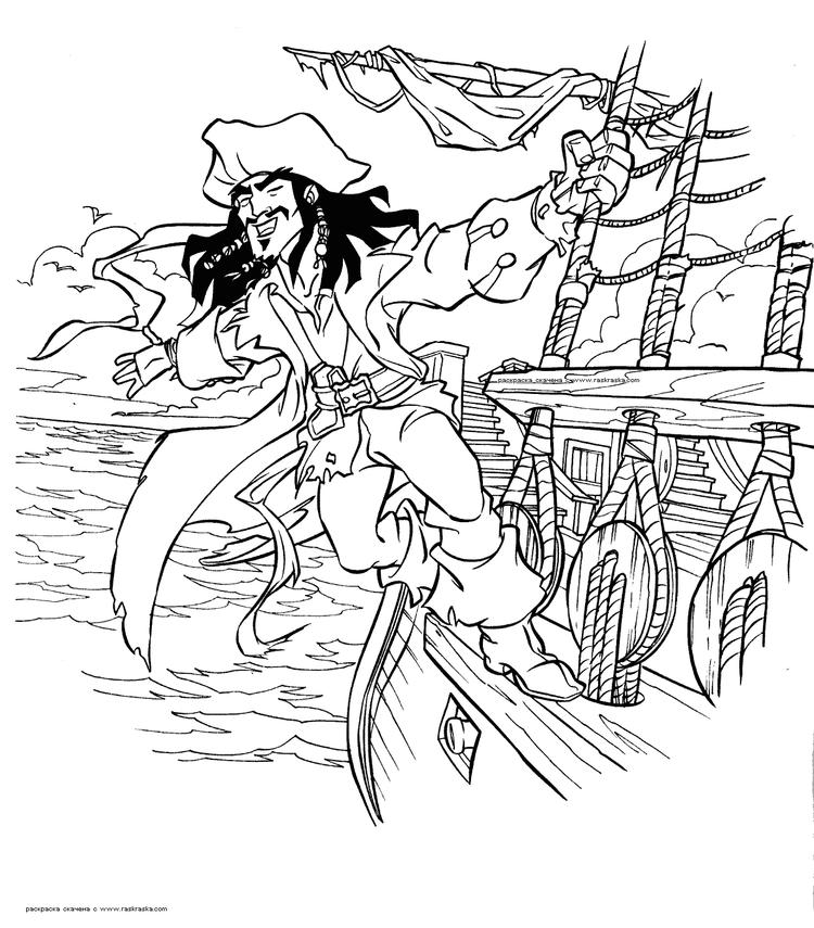 Free Jake And The Neverland Pirates Coloring Pages