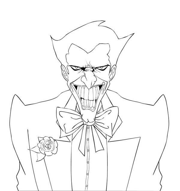 Free Joker Coloring Pages For Kids