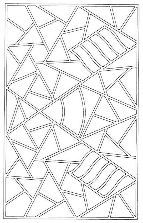 Free Mosaic Coloring Pages For Kids