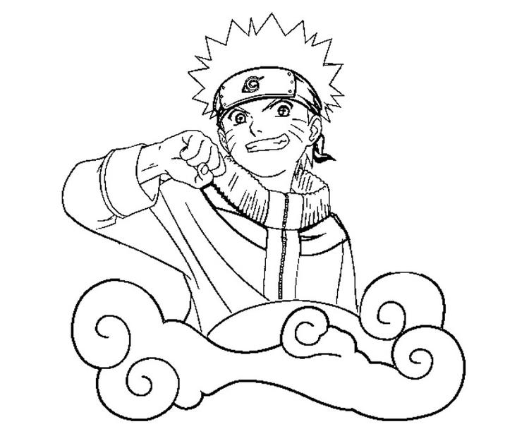 Free Naruto Coloring Pages 1