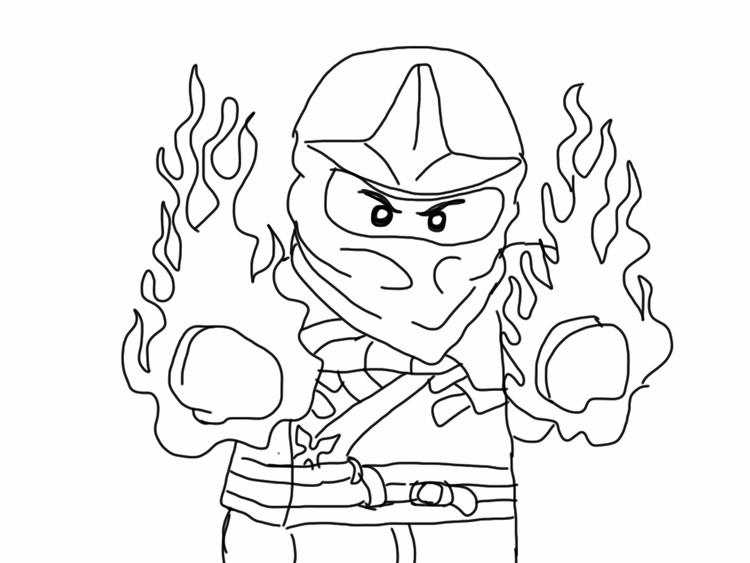 Free Ninjago Coloring Pages For Kids