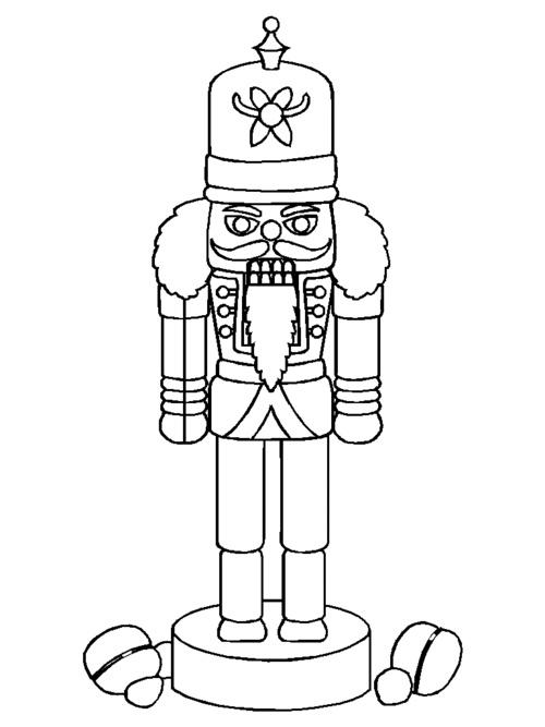 Free Nutcracker Coloring Pages For Kids