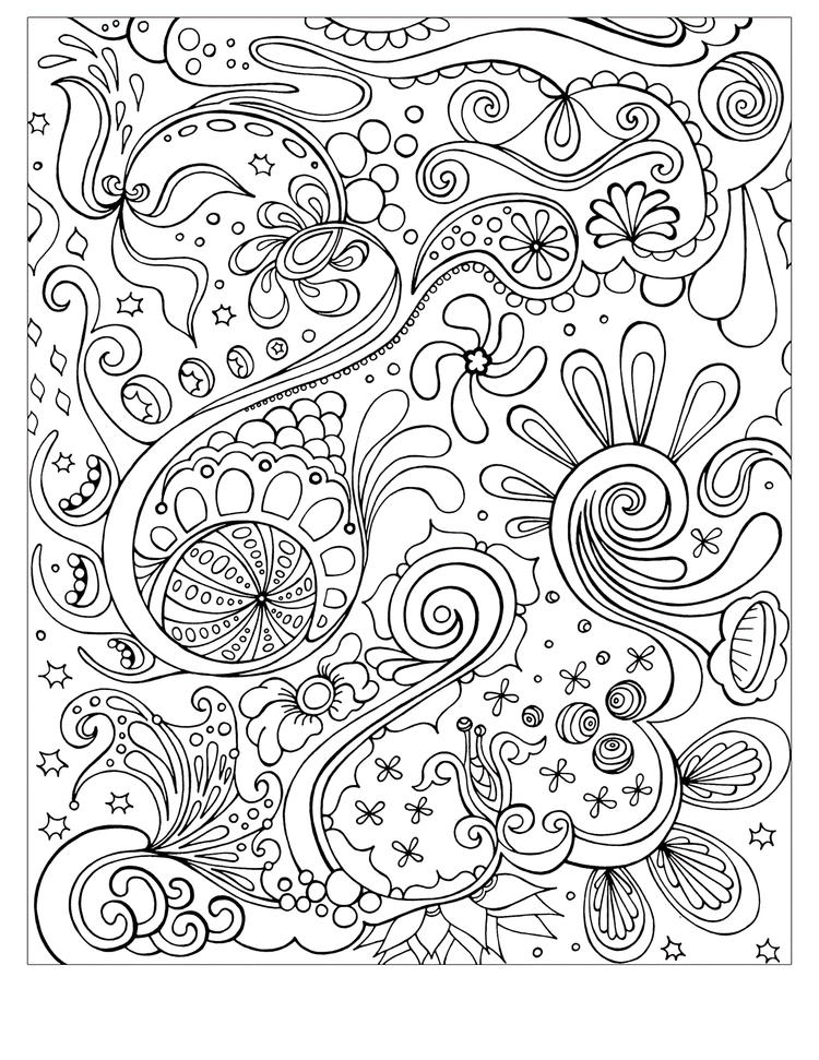 Free Printable Abstract Coloring Pages For Teen 1