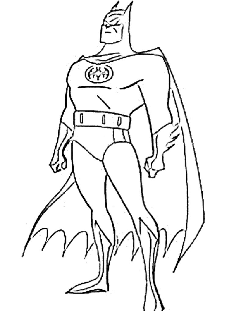 Free Printable Batman Coloring Pages For Kids 3