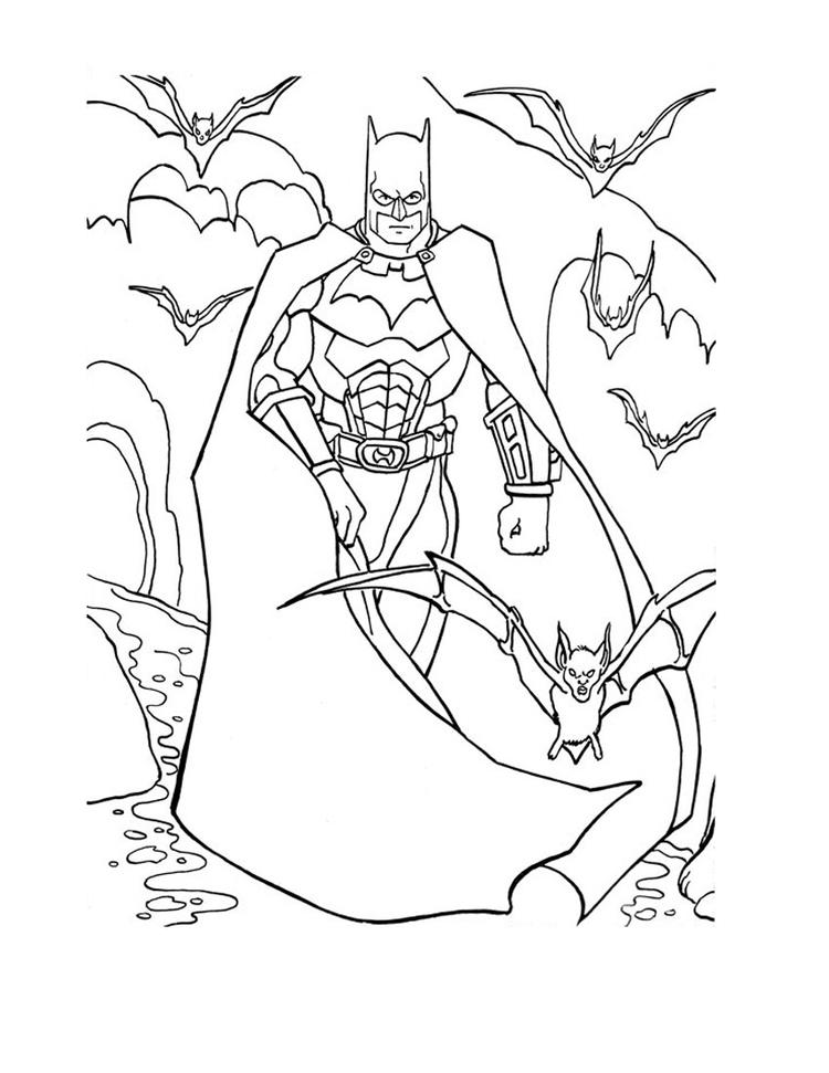 Free Printable Batman Coloring Pages For Kids 5