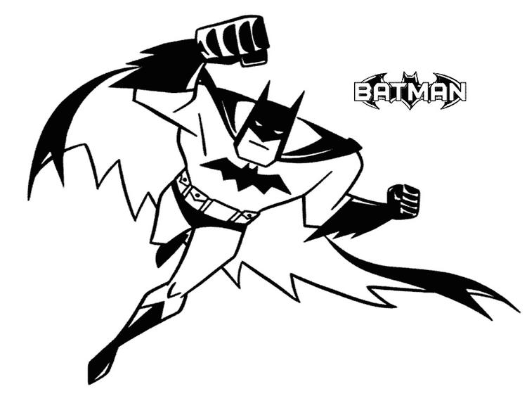Free Printable Batman Coloring Pages For Kids 7
