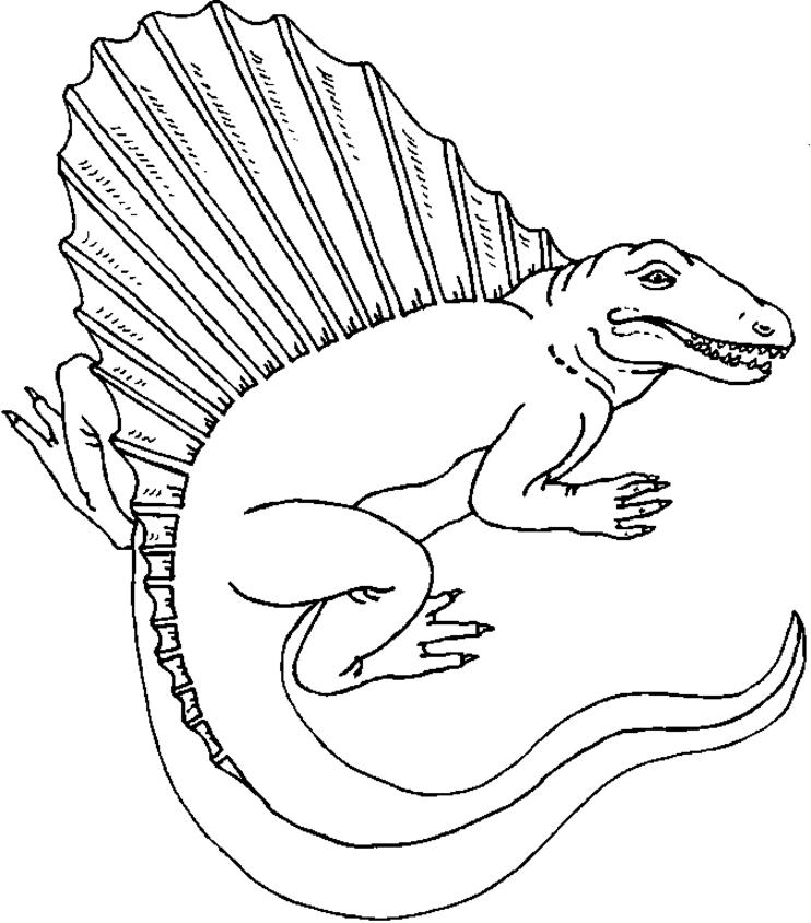 Free Printable Dinosaur Coloring Pages For Kindergarten