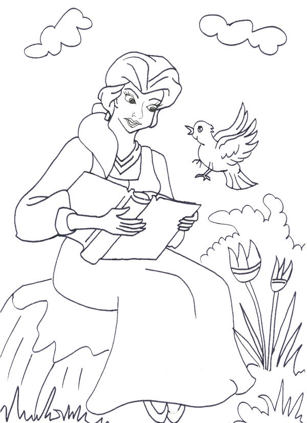 Free Printable Disney Princess Coloring Pages For Kids 13