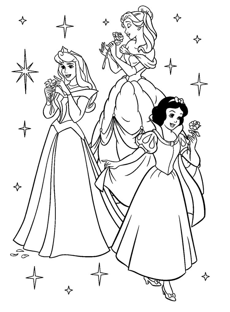 Free Printable Disney Princess Coloring Pages For Kids 14