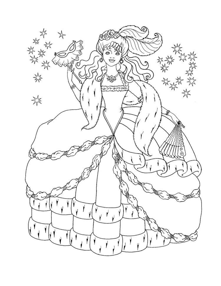 Free Printable Disney Princess Coloring Pages For Kids 19