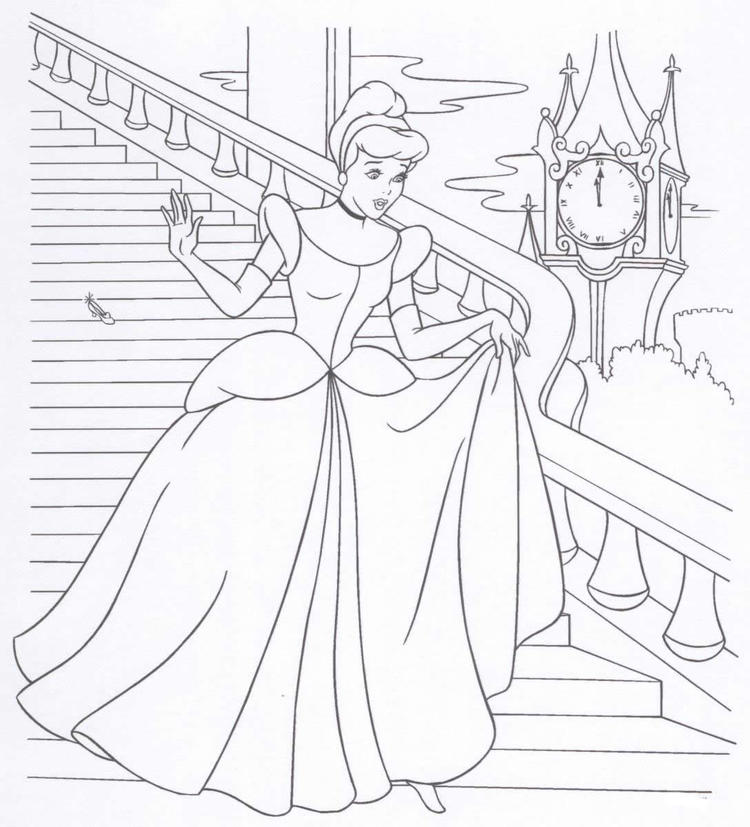 Free Printable Disney Princess Coloring Pages For Kids 20