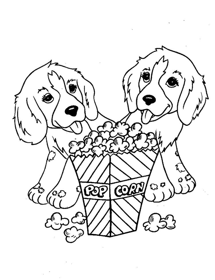 Free Printable Dog Coloring Pages For Kids 6