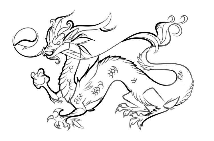 Free Printable Dragon Coloring Pages For Kids 3