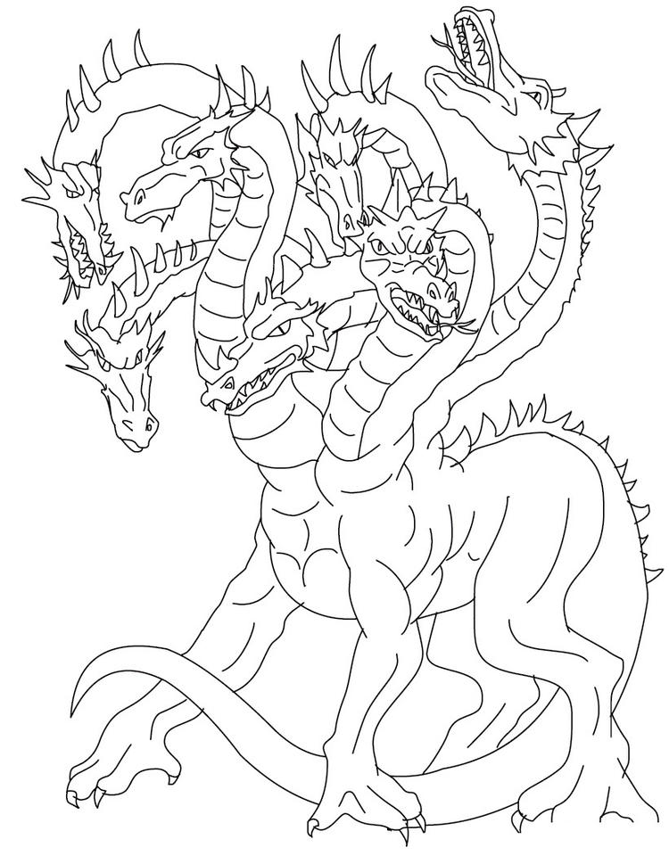 Free Printable Dragon Coloring Pages For Kids 8