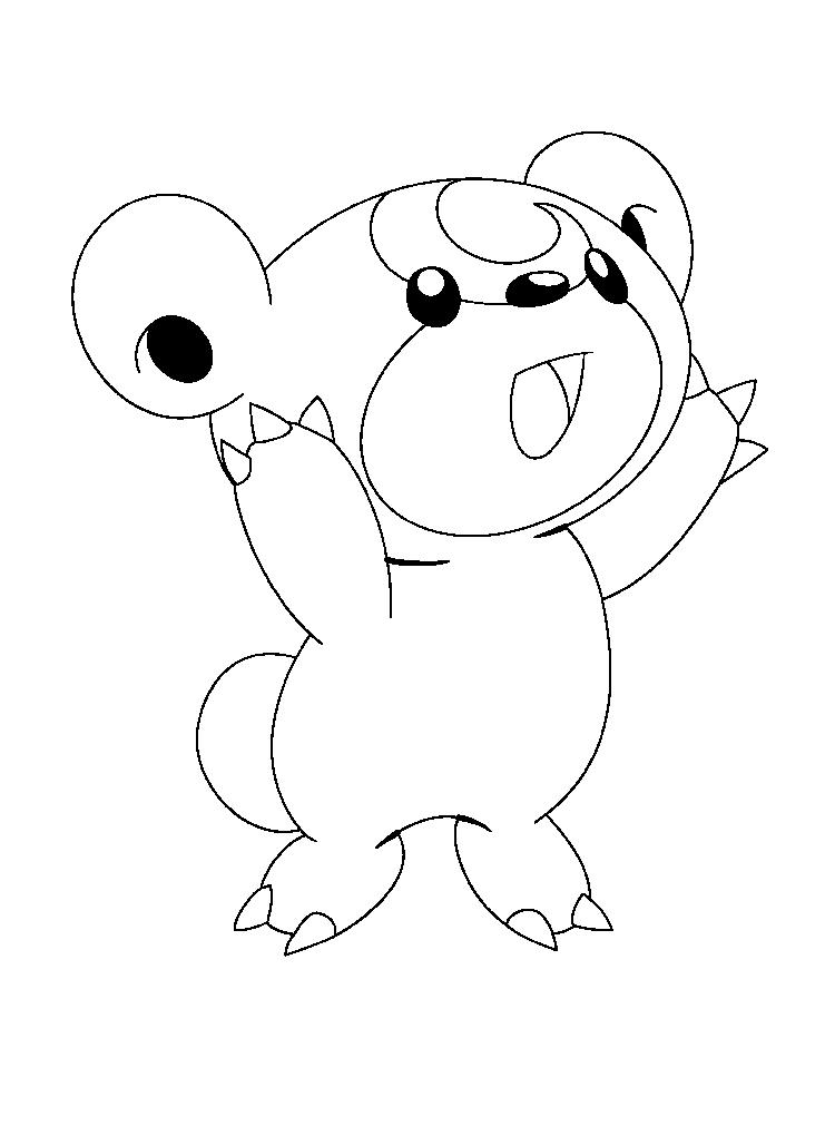 Free Printable Pokemon Coloring Pages For Kids 1