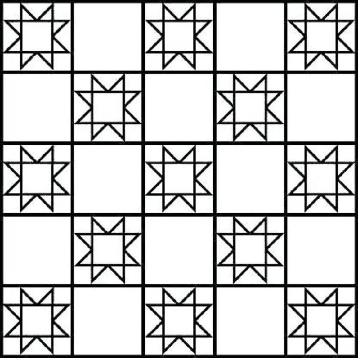 Free Printable Quilt Coloring Pages