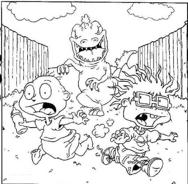 Free Printable Rugrats Coloring Pages