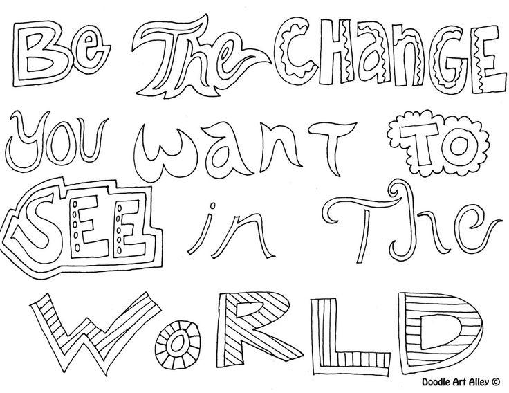 Free Printable Teen Quote Coloring Pages