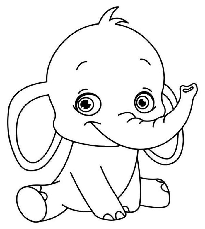 Free Printable Toddlers Coloring Pages