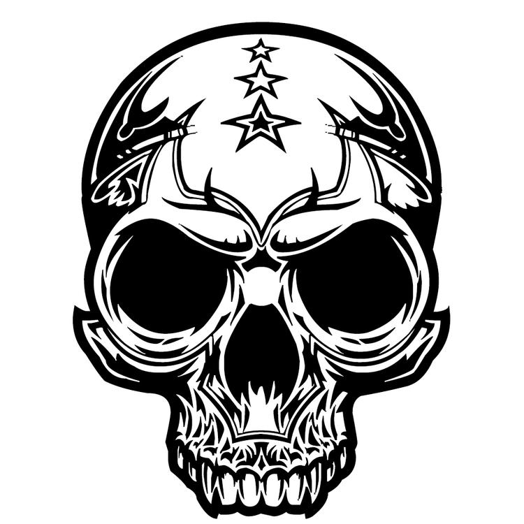 Free Skull Coloring Pages To Print
