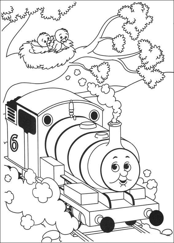 Free Thomas And Friends Coloring Pages For Kids