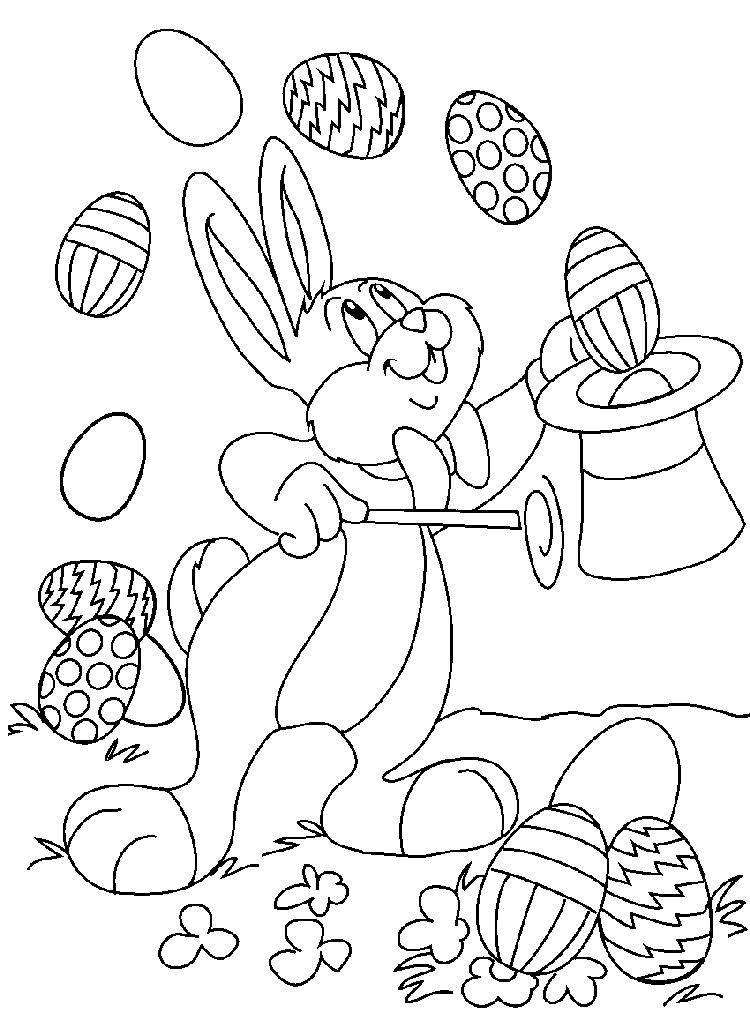Free Toddler Easter Coloring Pages