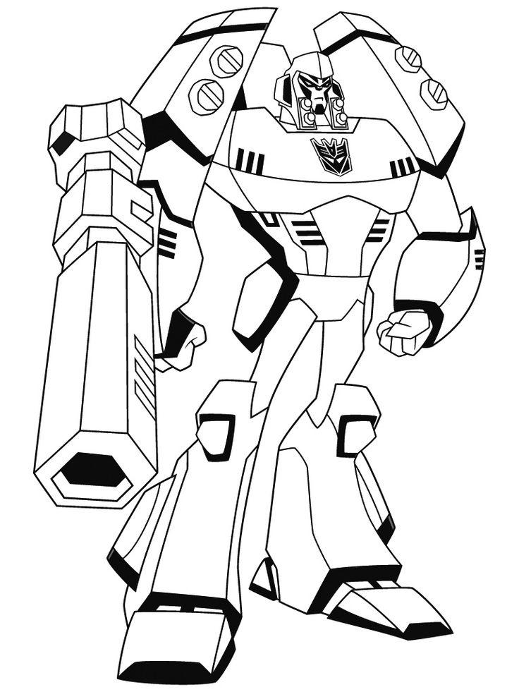Free Transformer Coloring Pages To Print