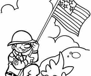 Free veterans day coloring pages for kids