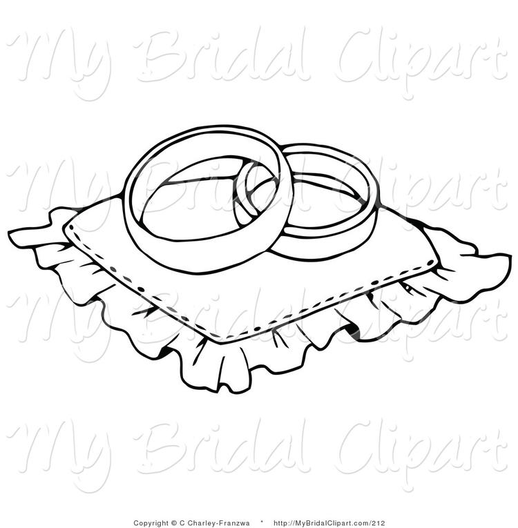 Free Wedding Ring Coloring Pages