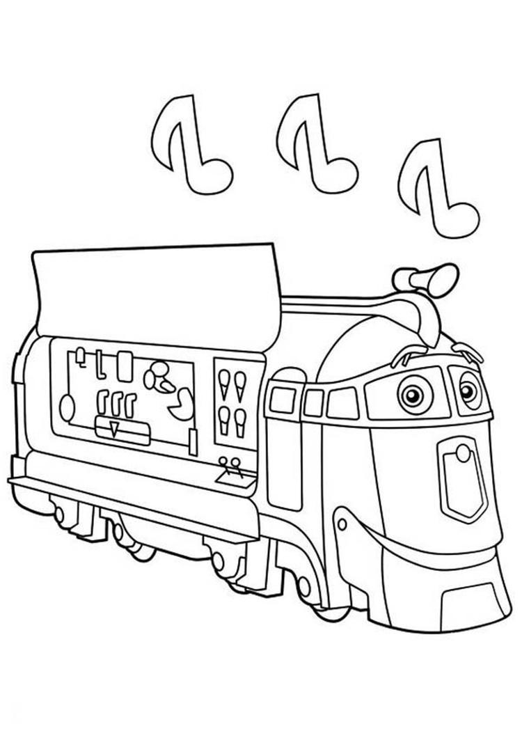 Frostini Chuggington Coloring Pages