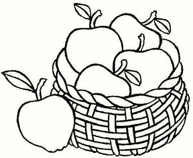 Fruit Coloring Pages 03