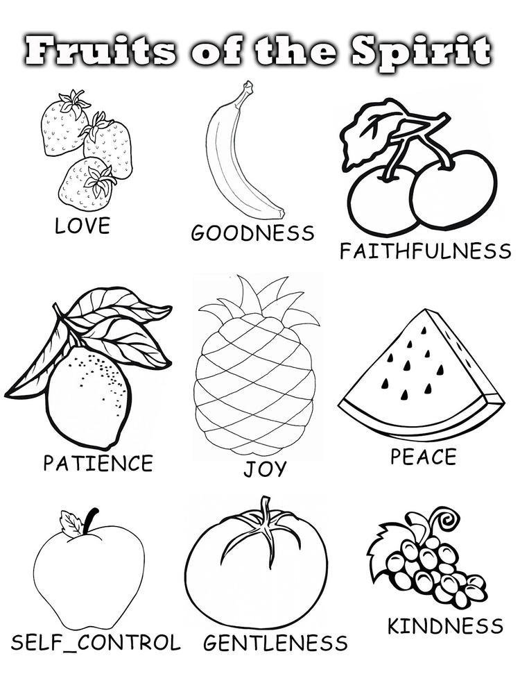 Fruits Coloring Pages 09