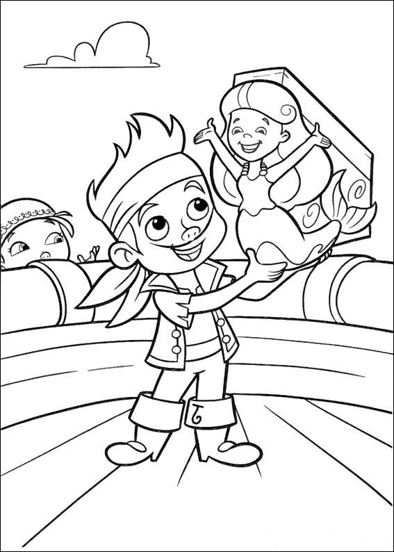 Fun Jake And The Neverland Pirates Coloring Pages