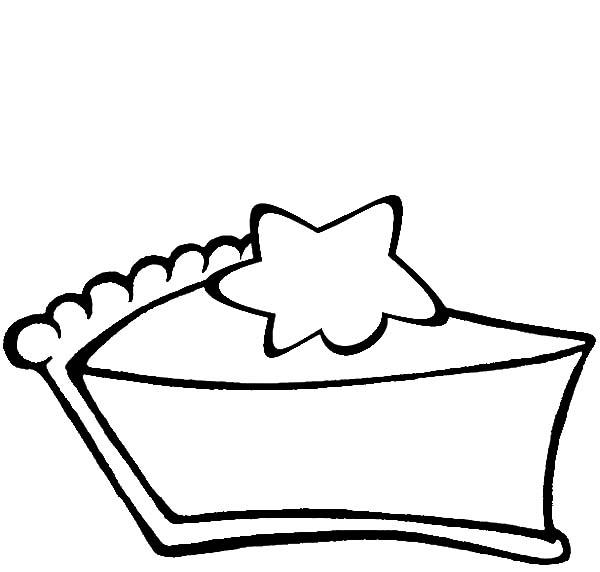 Fun Slice Cake Coloring Pages 1