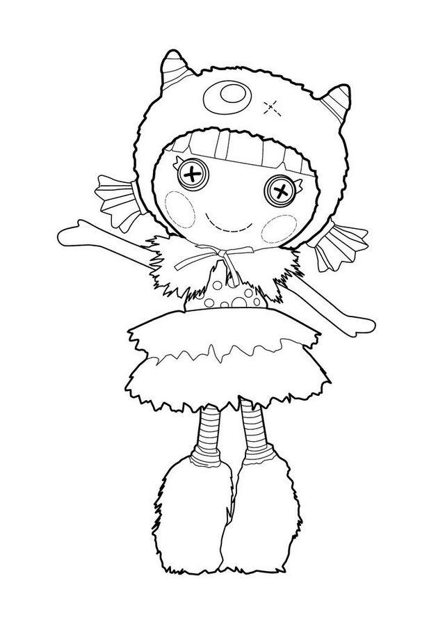 Furry Lalaloopsy Coloring Pages