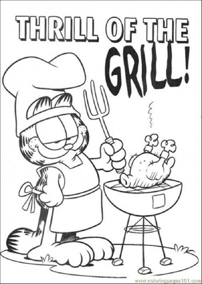 Garfield Coloring Pages To Print