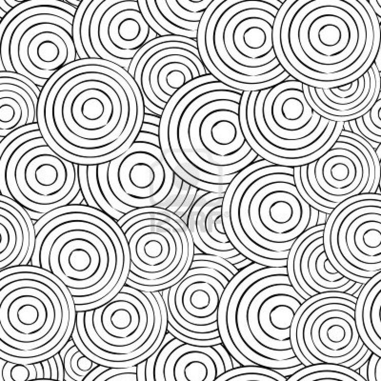 General Geometric Pattern Coloring Pages For Adults