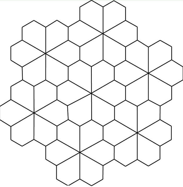 Geometric Tessellation Coloring Pages