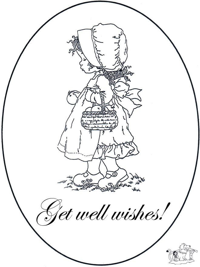 Get Well Soon Coloring Pages Free To Print
