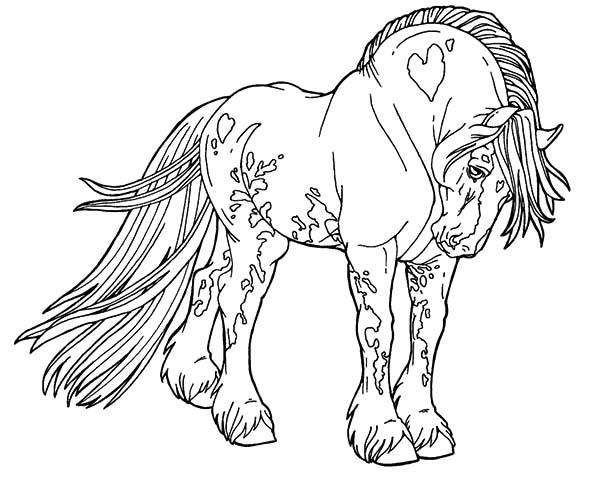Giant Appalooshorse Coloring Pages
