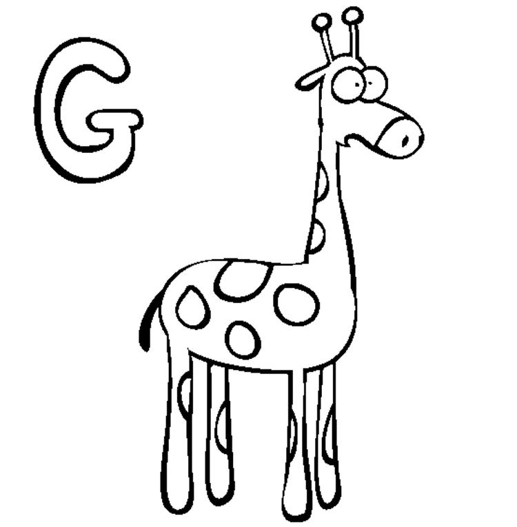 8800 Top Alphabet G Coloring Pages Pictures