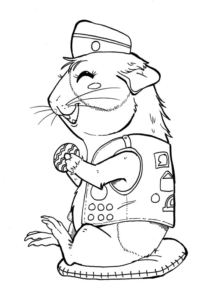 Girl Scout Coloring Pages Free To Print